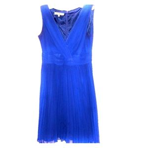 Evan Picone party dress, peri blue, 10